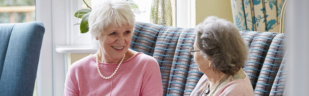 Volunteer at a care home