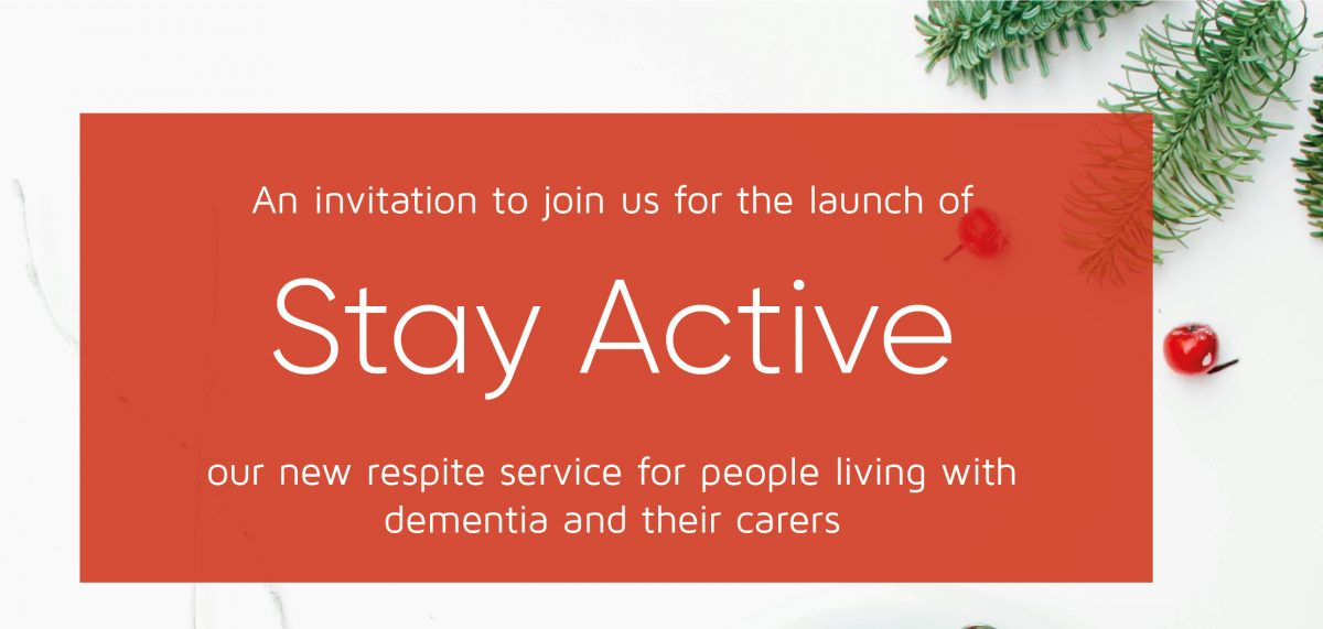 Respite service for people living with dementia and their carers